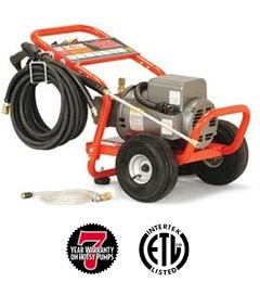 Hotsy EP series hot water pressure washer