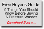 Download the 9 things you should know before buying a pressure washer